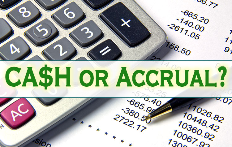 Accrue cash to offset regularly scheduled expenses