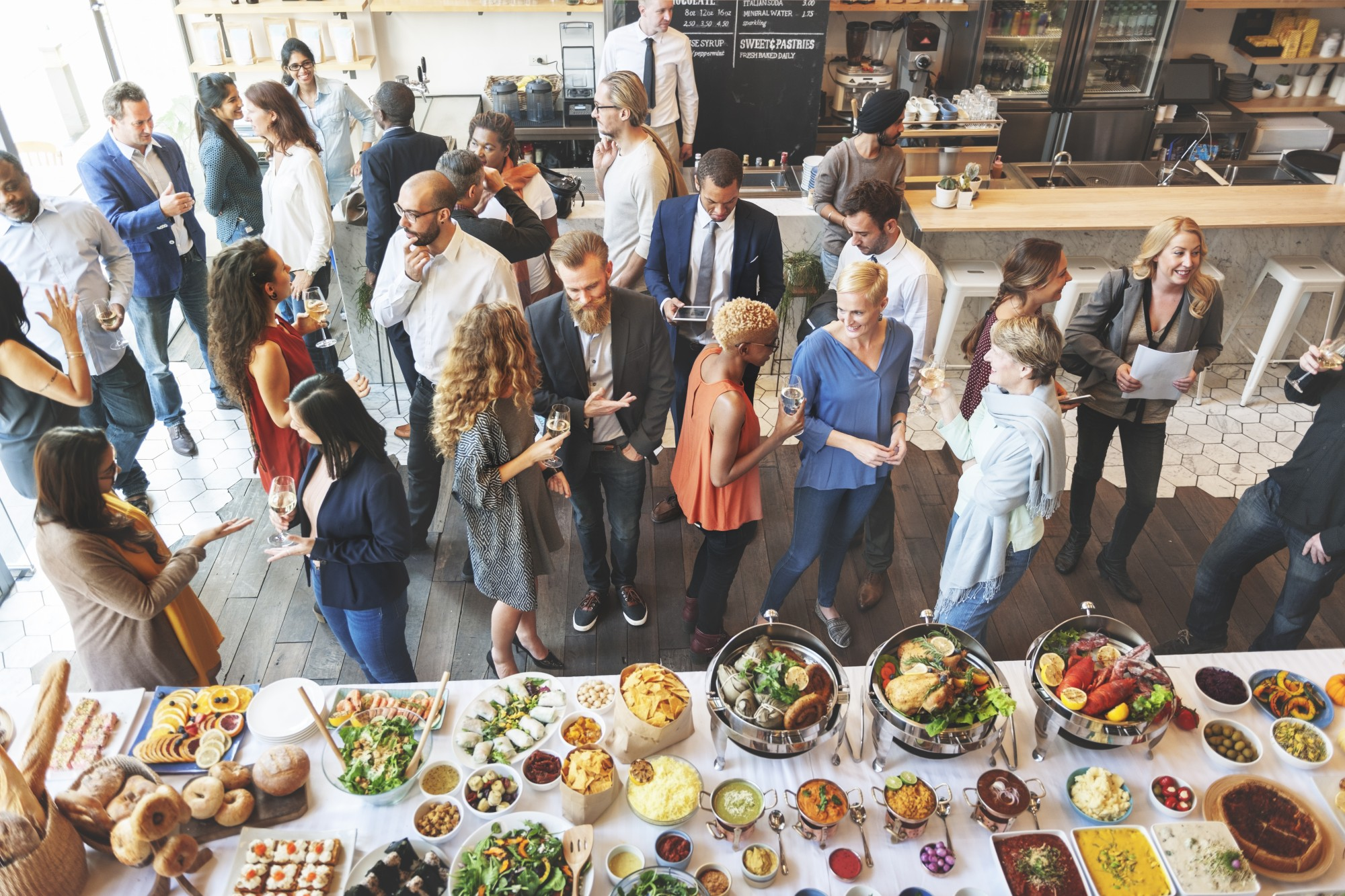 Plan beyond your opening line at networking events